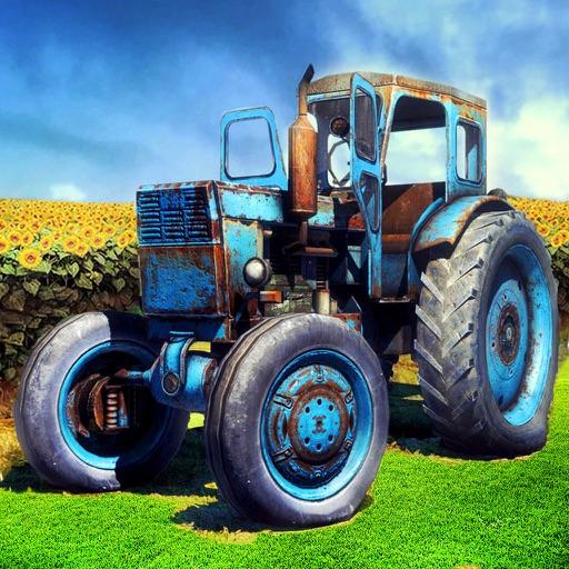Tractor Farm Harvest: Snow Plow Driver HD