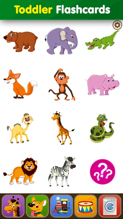 Baby Learning Flashcards: Toddler Kids Games Free