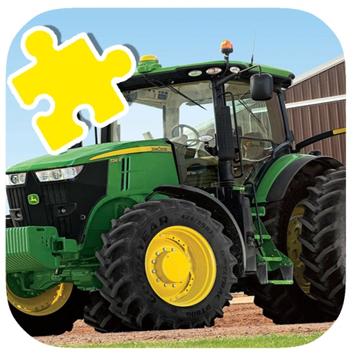 Jigsaw For Kids Games Page Monster Tractor app logo