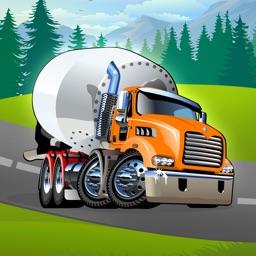 Auta, Kamiony a vozidla - Kreativní hra pro děti