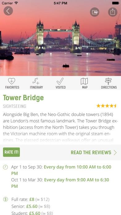 London Guide - mTrip Screenshot 5