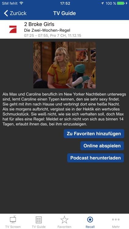 TV Screen - Fernsehen zu Hause + unterwegs screenshot-3