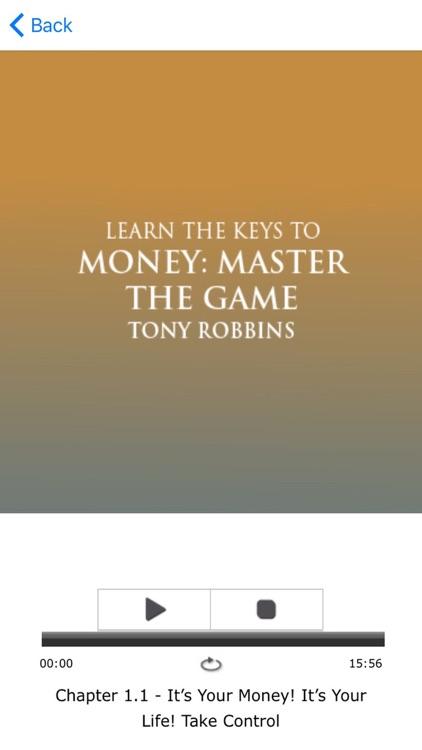 MONEY Master The Game by Tony Robbins - Meditation screenshot-3