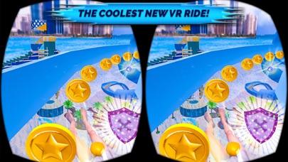 VR Beach Water Sliding - Water stunt & ride Pro screenshot two