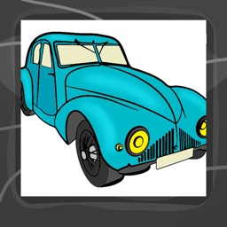 Cars Coloring Book App