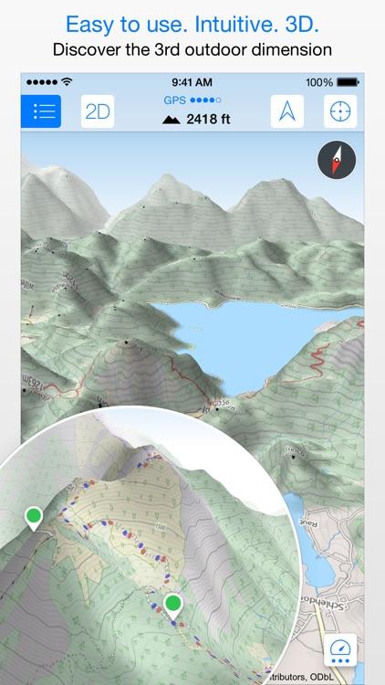 Maps 3D - GPS for Bike, Hike, Ski & Outdoor