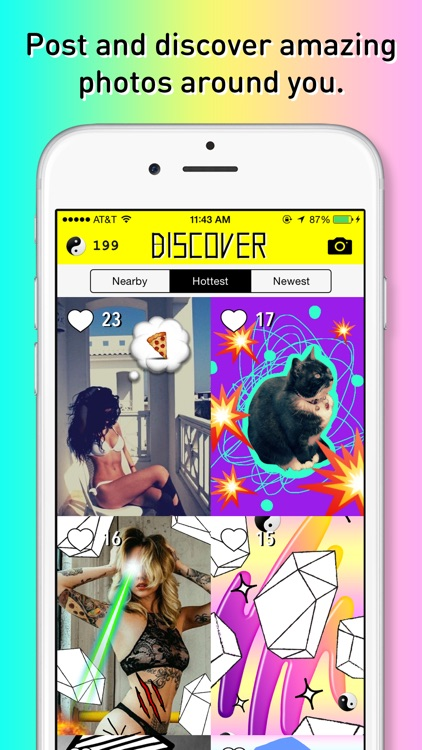 OKJUX - Discover awesome sticker art nearby!