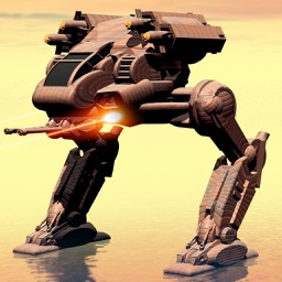 Iron Robot Shooting Battle