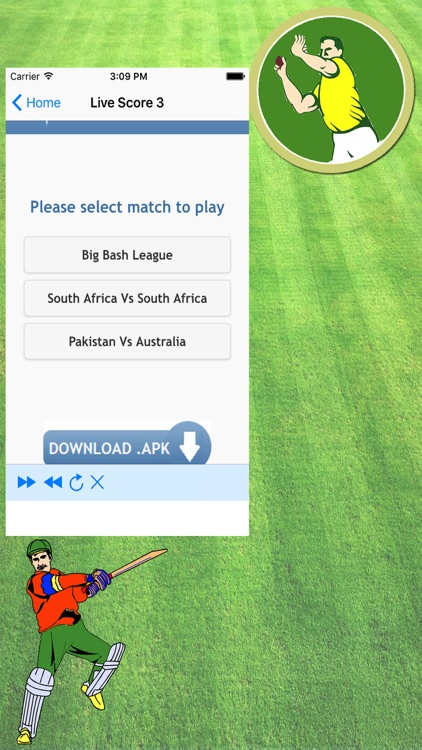 Live Cricket TV & Live Cricket Score Updare screenshot-2