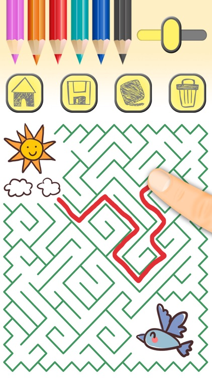Mazes for kids and fun labyrinth brain games - Pro screenshot-3