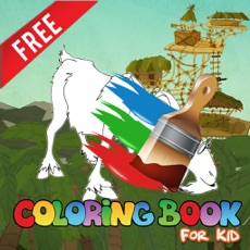 Activities of Coloring Kids friendly for Robinson Crusoe Animals