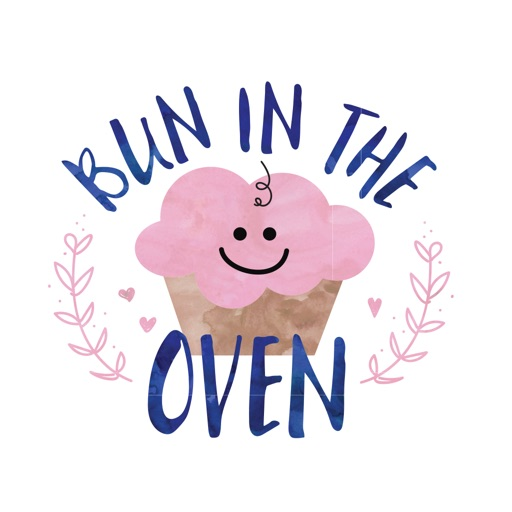 Bun in the Oven Pregnancy Sticker Pack
