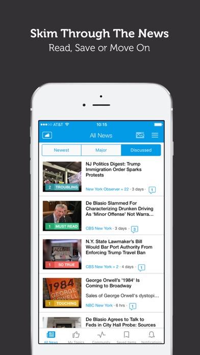 NYC News - New York Local News & Weather Screenshot on iOS