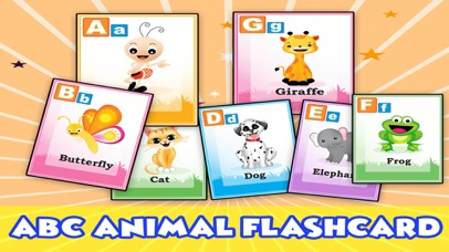 ABC phonics animals & memory match game for pre k
