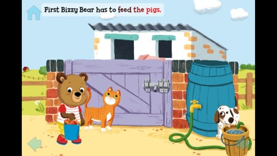 Bizzy Bear On The Farm review screenshots