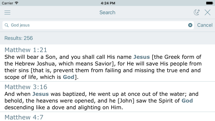 Amplified Bible Audio. AMP Bible Reading for Today Screenshot