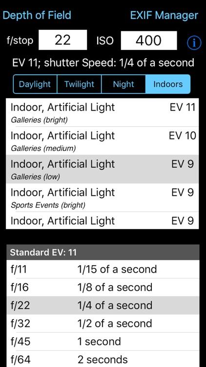 Exposure Calculator screenshot-3