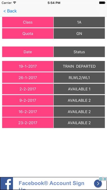 PNR Status & Train Enquiry screenshot-3