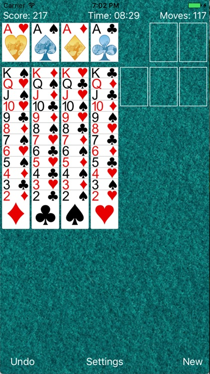 ⋆Solitaire : Full Version screenshot-4