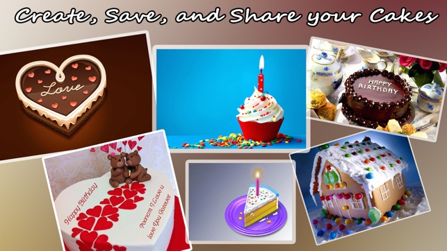 Happy Birthday Cake With Edit Name And Photo On The App Store