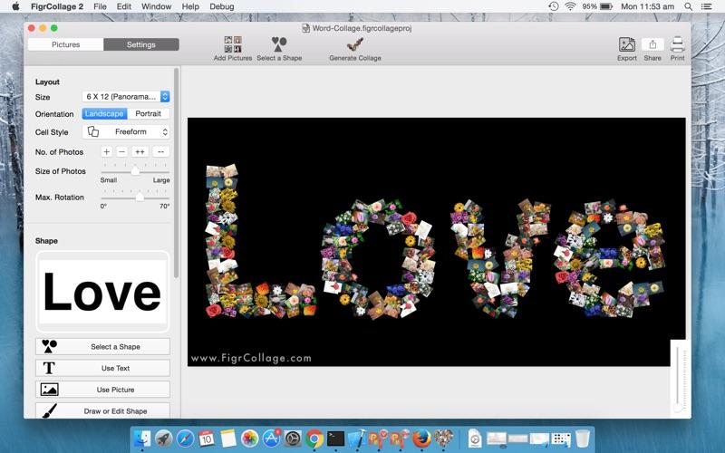 FigrCollage 2 Lite Edition Screenshot