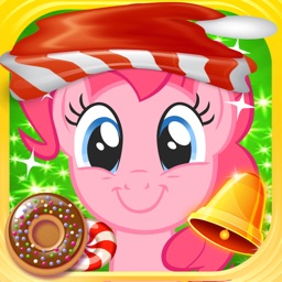 Cute Pony & Santa Claus Action Puzzle Game For All