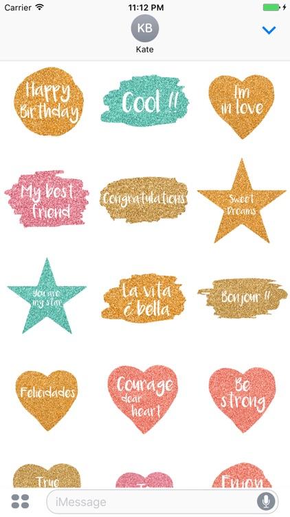 Hello - Watercolor Messages Stickers by Maraquela screenshot-4