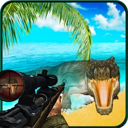 Wild Crocodile Attack 2017: Alligator Hunting 3D