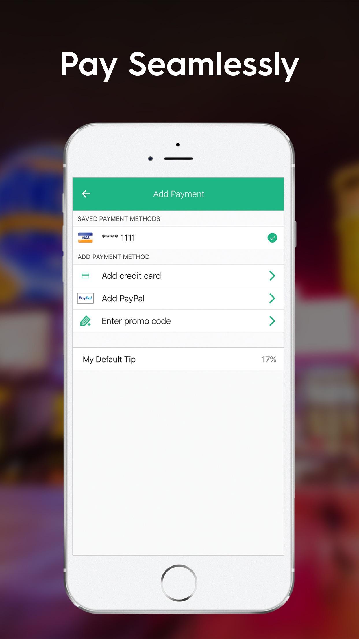 Curb - The Taxi App Screenshot