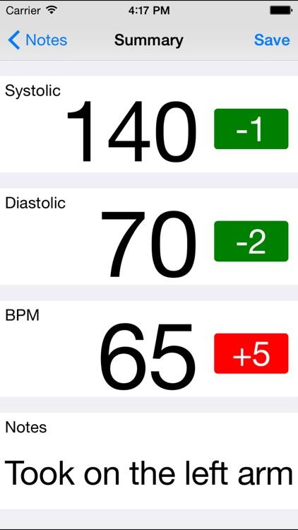 Goal Blood Pressure screenshot-4