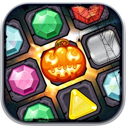 Halloween Matching Three For Scary Puzzle Games