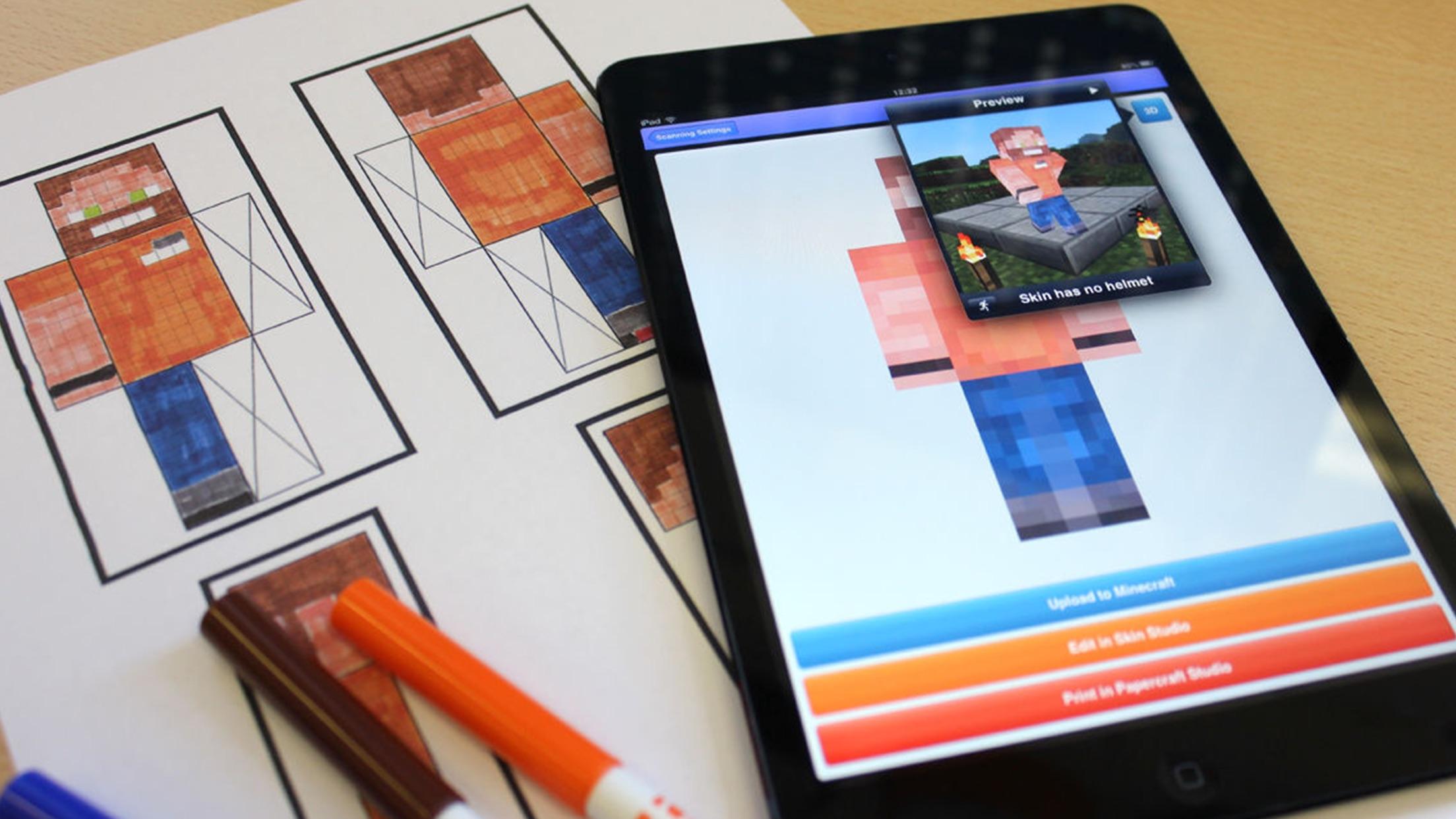 Minecraft: Skin Scanner Screenshot