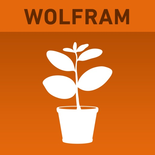 Wolfram Plants Reference App icon
