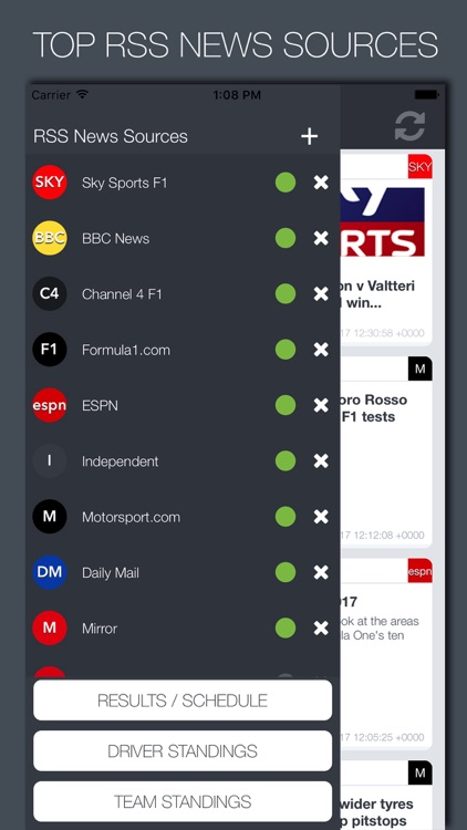 Formula News screenshot-1