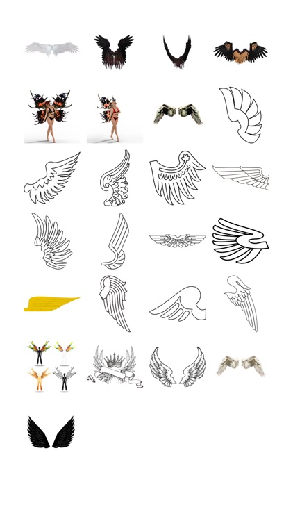 Wing Sticker Pack!