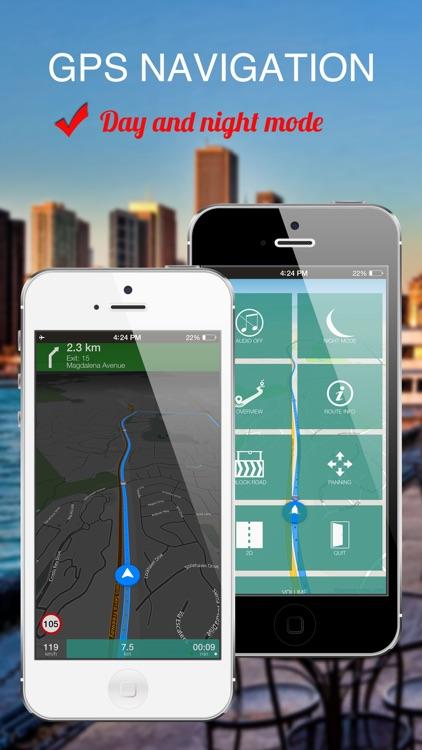 Santiago, Chile : Offline GPS Navigation screenshot-3