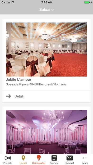 Jubile Catering screenshot two