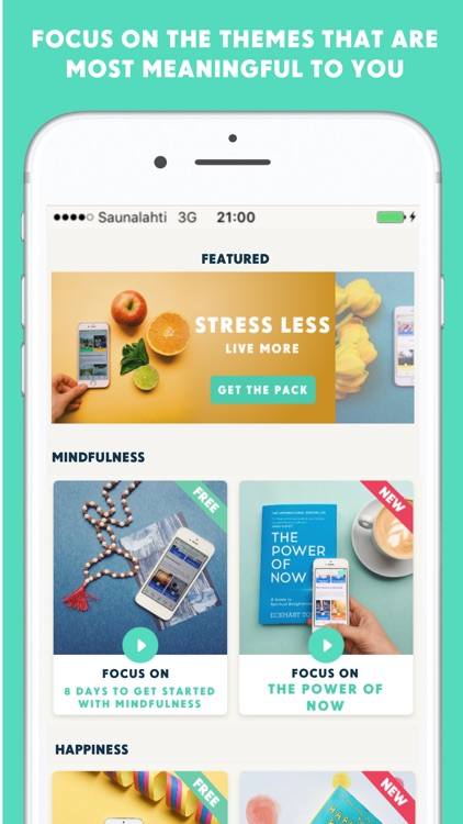 YOU-app - Micro-actions for health and happiness screenshot-3