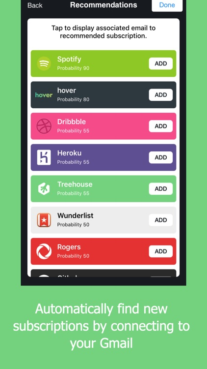 Outflow - Subscription Manager screenshot-3