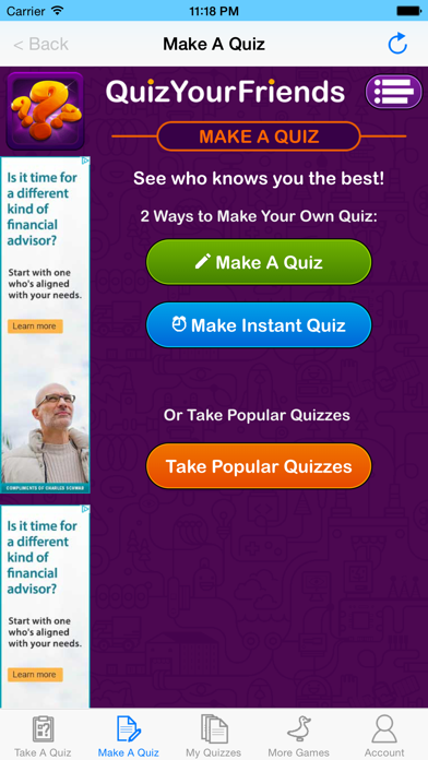 Quiz Your Friends - See who knows you the best! screenshot four