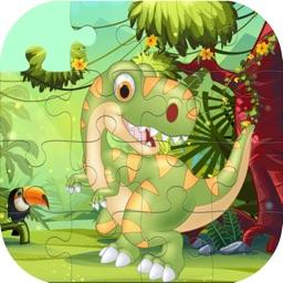 Cute Dino Train Jigsaw Puzzles for Kids