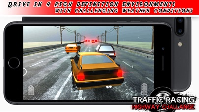 A High Speed City Chase - The Racing Driving Game screenshot one