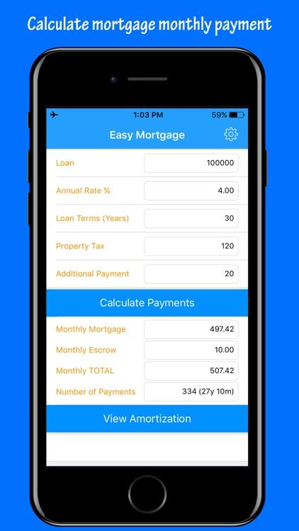 Easy Mortgage - Loan Calculator