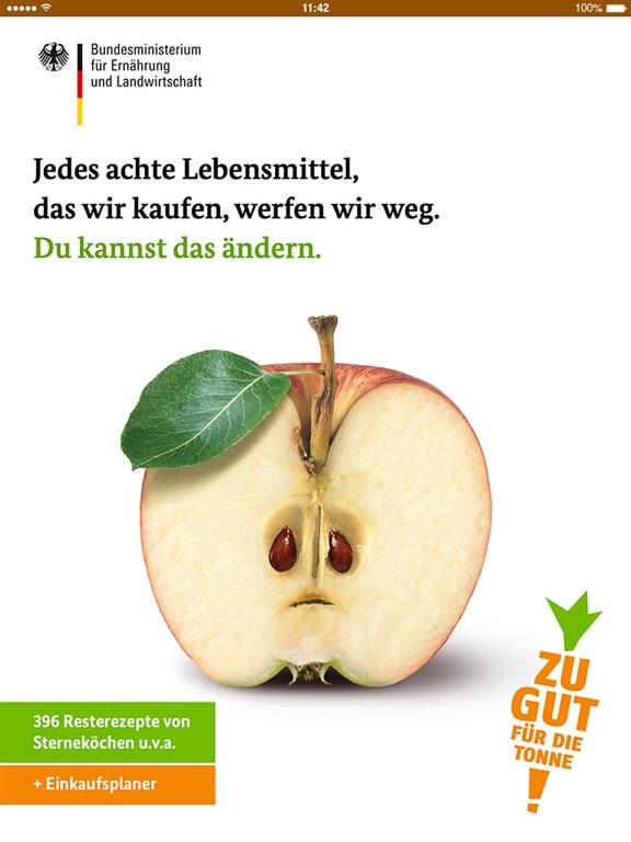 """1024x768bb """"Zu gut für die Tonne"""" eine App gegen das Wegwerfen von Lebensmitteln [App-Review] Apple iOS Google Android"""