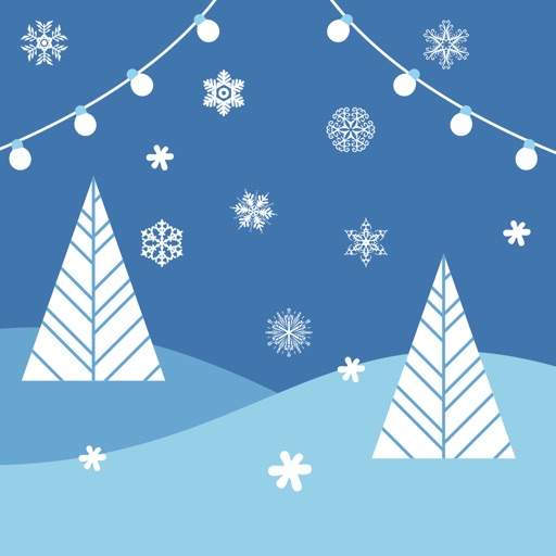Snowflakes Winter Icy Fun Stickers