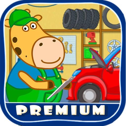 Kids Car Wash Garage Premium By Oculist