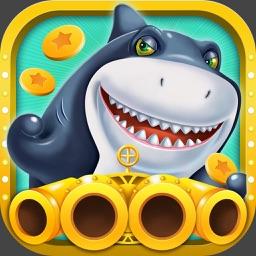 疯狂捕鱼-经典电玩城游戏,超多金币免费送