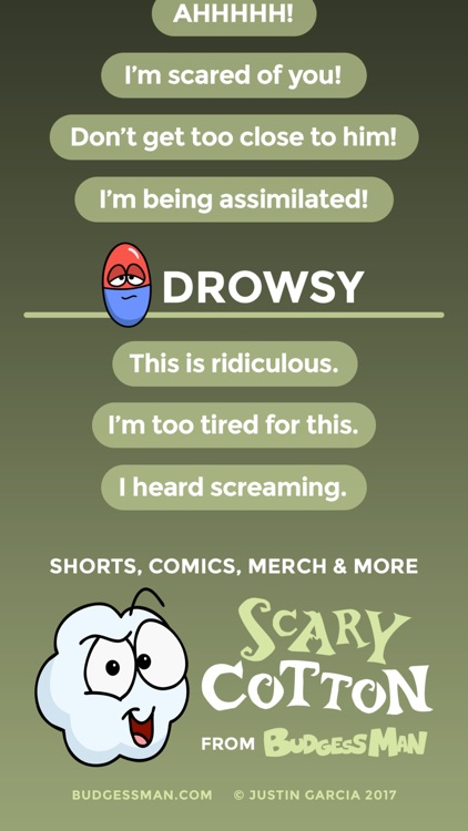 Scary Cotton Quotes