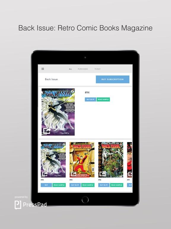 Back Issue: Retro Comic Books Magazine screenshot