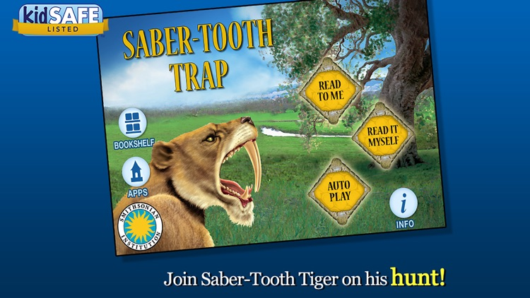 Saber-Tooth Trap - Smithsonian's Prehistoric Pals screenshot-0